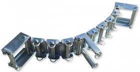 Cable and rope guiding chain type Z-KEK 846