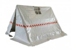 Wireman's tent made of PVC
