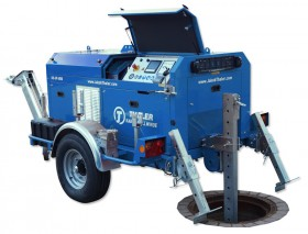 Line 4000 as Pipe Renewal Winch
